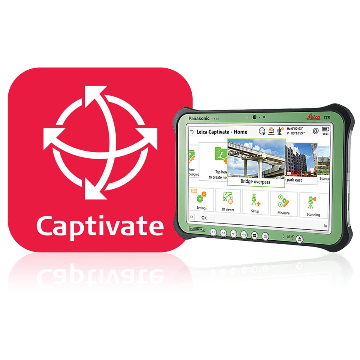 Лицензия Captivate Survey & Stakeout CS35