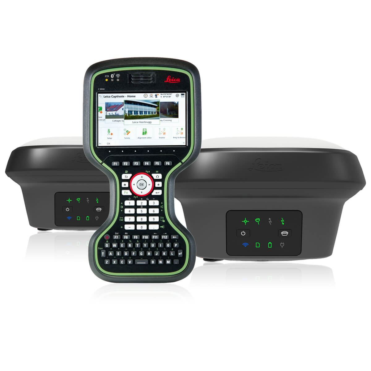 RTK комплект Leica GS18 T + GS18 T + CS20 LTE Disto