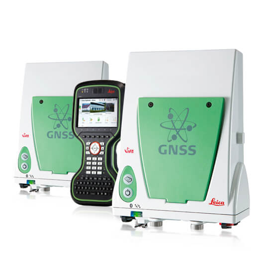 RTK комплект Leica GS10 GSM/Radio + GS10 Radio + CS20 LTE Disto
