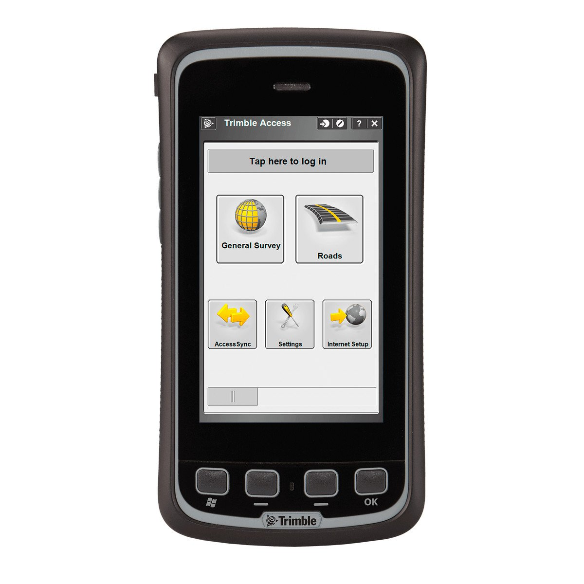 Trimble Slate, Access, extended battery. Фото N2