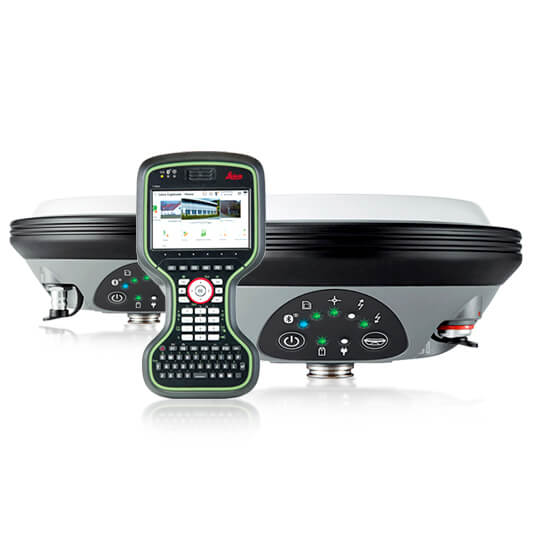 RTK комплект Leica GS16 UHF + GS16 UHF + CS20 LTE Disto
